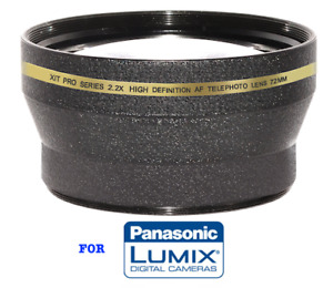 HD 62MM TELEPHOTO ZOOM LENS FOR PANASONIC LUMIX DC-G9 FAST SHIPPING USA SELLER
