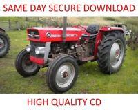 MASSEY-FERGUSON MF35 MF122 MF130 MF135 MF148 TE20 Tractor SERVICE Repair MANUALS
