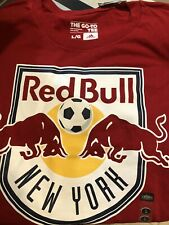 ADIDAS MLS TEAM T-Shirt  NEW YORK RED BULLS Red  SZ L