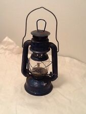 Vintage Lantern Retro Camping Oil Lamp Blue Brand ? Country Chic Outdoors