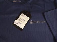 Beretta Mens Tech Short Sleeve T-Shirt Polyester Light Blue XL