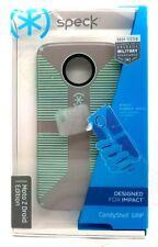 Speck CandyShell Grip Hybrid Case For Motorola Moto Z Droid - Grey