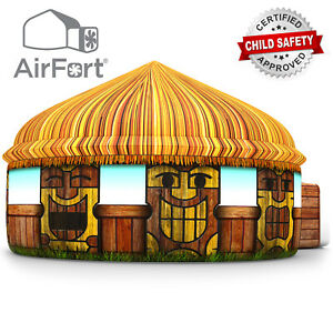 The Original AirFort Build An AirFort in 30 Seconds Tiki Hut Build a Fort