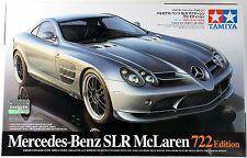 TAMIYA 1/24 Mercedes-Benz SLR McLaren 722 w/ Die-cast U-panel #24317 scale model