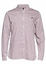 Fred Perry Men's Slim Striped Casual Shirts & Tops