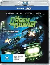 The Green Hornet (3D - Blu-ray, 2011)