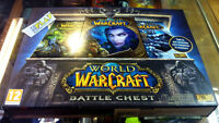 WORLD OF WARCRAFT BATTLECHEST BATTLE CHEST PC PAL ESPAÑA NUEVO ENTREGA 24 HORAS