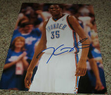 Kevin Durant Signed 11x14 OKC Thunder Photo with proof