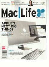MAC LIFE, MARCH, 2013 ( APPLE'S NEXT BIG THING ? )10 WAYS APPLE CHANGE THE WORLD