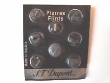 Dupont - Feuersteine, 8 Stück, verblistert, Grau