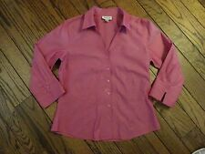 Coldwater Creek Dark Pink Blouse       Size PM