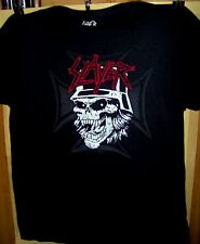 SLAYER Skull and Cross Pre Worn T-Shirt Size X-Large KERRY KING Very COOL