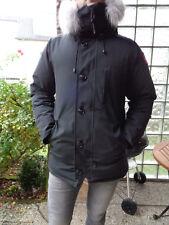 Canada Goose Herren Parka Daunen Jacke Schwarz Größe M