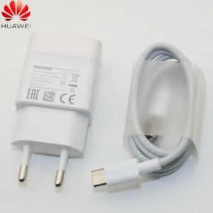 Original Huawei Schnellladegerät Adapter Typ C USB Ladekabel P20 P30 Pro Mate 20