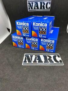 5x Konica  vx 200 110mm 12 exp Expired film  pocket lomography Lomo