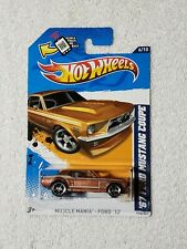 2012 HOT WHEELS MUSCLE MANIA 67 FORD MUSTANG COUPE