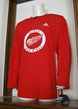 46 Adidas Dylan Larkin Detroit Red Wings Authentic Practice Hockey Jersey NWT