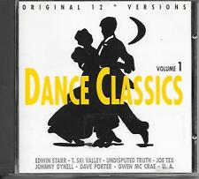V/A - Dance Classics VOLUME 1 CD 11TR Austria 1988 Edwin Starr Joe Tex (GIG)