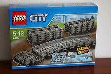 Lego Train Supplemental RC Train Set 7499-1 Flexible and Straight Tracks - New