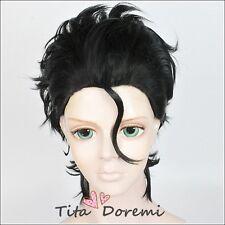 Halloween Wig Cosplay Fate Diarmuid Ua Duibhne Black Short Hair fashion