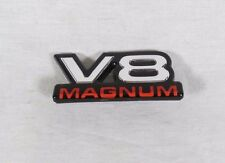 DODGE V8 MAGNUM EMBLEM 97-00 DAKOTA DURANGO FENDER OEM BADGE sign logo symbol