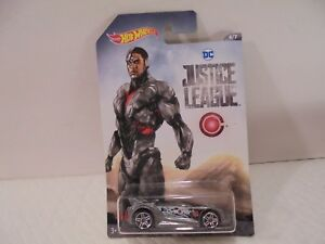 Hot Wheels DC Justice League Cyborg Quick n' Sik Diecast Car 6/7 Collectible