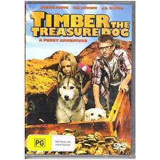 DVD TIMBER THE TREASURE DOG Kix Brooks Averie South Adventure Family PG R4 [BNS]