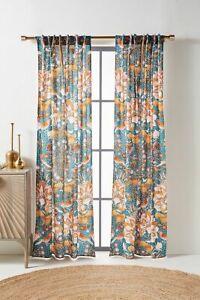 Anthropologie Mahina Curtain Panel Single-50 x 108-$98 MSRP