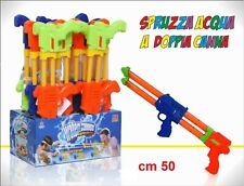 Fucile ad Acqua Pistola Acqua Mitra Spruzza Acqua Spara Acqua cm 50 , 1 pezzo