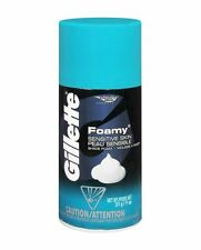 Gillette Foamy Shave Foam Sensitive Skin 11 oz (Pack of 2)
