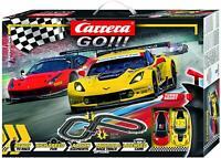 Carrera Go !!! GT Showdown Slot Car Racing Race Set 62490 NEW