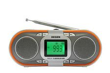 Portable AM/FM Stereo/ Digital tuning radio MP3 player +8GB SD CARD High Quality