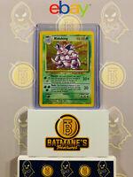 Nidoking 11/102 MP/LP Played Base Set Holofoil Rare Holo Pokemon Card
