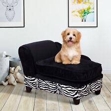 Hundesofa Hundecouch mit Stauraum Katzen Sofa Hundebett Haustier mit Kissen