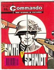 COMMANDO COMIC - No 2351   SMITH v SCHMIDT