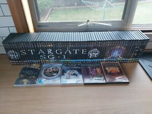 STARGATE THE DVD COLLECTION season 1- 9 (63 dvds) + 5 other Stargate DVDs