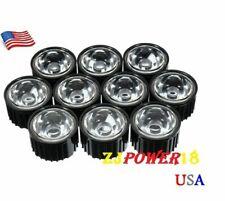 20pcs 5 Degree Lens Reflector Collimator Withholder For 15w Led Black