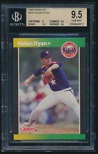 1989 Donruss #154 Nolan Ryan BGS 9.5