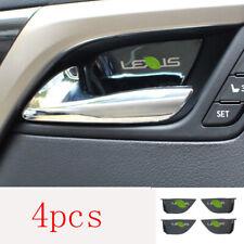 For Lexus RX300 200T 450H 16-20 Black titanium Interior door bowl sticker trim
