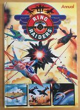 RING RAIDERS Annual 1989 - Hardback Book Grandreams 62 pages - Cartoon Toys Rare