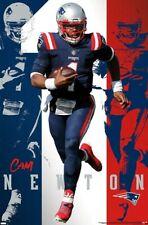 Cam Newton SUPERSTAR New England Patriots 2020 QB NFL Football Wall POSTER