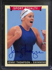 2008 Upper Deck Goudey Sport Royalty Autograph #GSR-JT Jenny Thompson