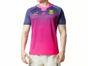 Asics South Africa Jersey Springboks Replica Top Training Rugby Shirt