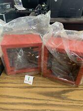 2 Fire Alarm Back Box Red Wheelock 103204 Sbb R Surface Mount