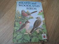 Heath and Woodland Birds Vintage Ladybird Book Series 536