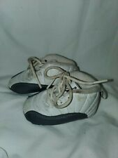 Air Jordan Nike Shoes Size 2 White Gray Baby 2C Toddler Small Red Great Cond