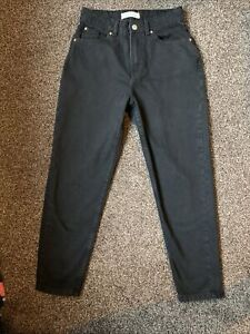 Girls Womens Ladies Black Jeans Size 6 Denim Co