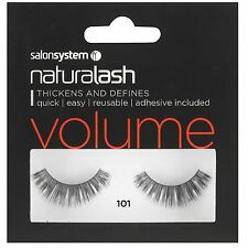 78614ce1ef7 Naturalash 101 Eye Lash Strips Volume Lashes Black Adhesive Inc by Salon  System