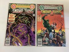 THE ORIGINAL SWAMP THING SAGA #3-4 (DC/1979/WEIN/WRIGHTSON/0918683) SET LOT OF 2