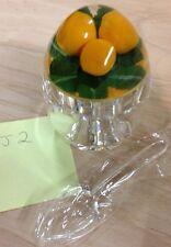 Acrylic Jam Jar Pot, Lid & Spoon by CABALLO for marmalade/jam/etc - item ref 2